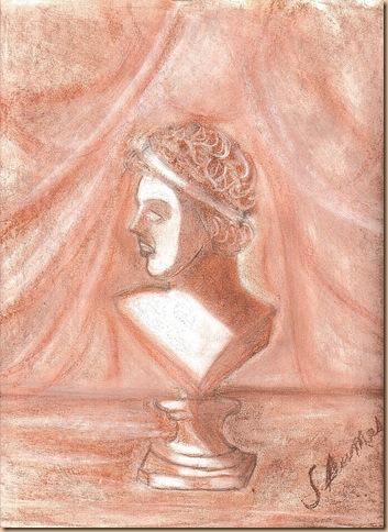 buste grec a la sanguine (2)